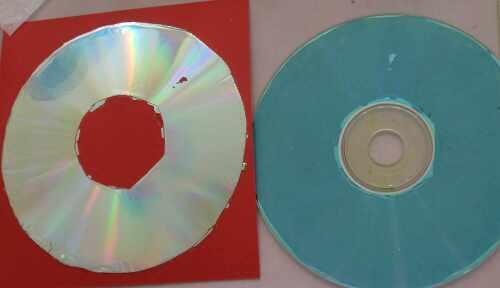 Alte CDs wiederverwenden und tolle Embellishements machen draus. Eine Scrapastic.com Anleitung